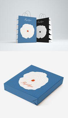 Fuji | デパート (静岡・静岡市)包装紙/ショッピングバッグ | 2015 FUJI Shopping Bag & Wrapping Paper Design | 2015 | HAM EGG STUDIO #Japanese #富士山