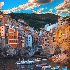 Riomaggiore, Italy. Beautiful capture! ❤️  Photo credits: @sennarelax  Hashtag #worldtravelbook  to be featured.  Follow my personal account @sharqawii   Add worldtravelbook  on Snapchat!