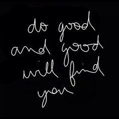 Do Good ❤