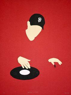 cool dj artwork.                          The Hitman.