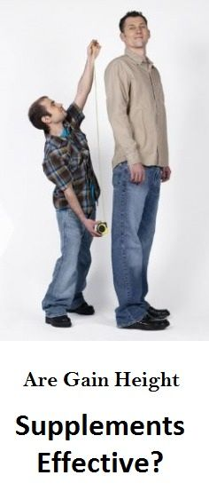 Are Gain Height Supplements Effective?
