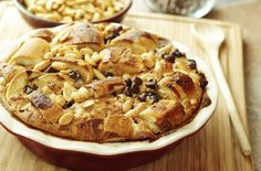 Peanut bread and butter pudding recipe - goodtoknow