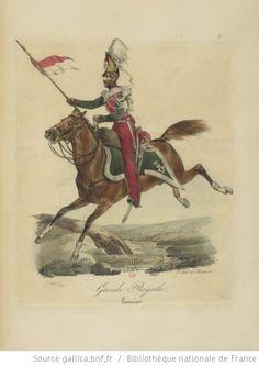 [Maison du Roi et garde royale de Louis XVIII, 1817.] / Ch. Aubry - 16