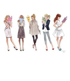 """Inslee Haynes, """"Emily's Girls"""" inspired by the heroines of Emily Giffin's novels"""