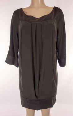 DIANE VON FURSTENBERG Peggie Dress Size 6 S Small Silk Stretch Work #DVF #WeartoWork