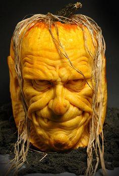 magic pumpkin art villafanestudios.com
