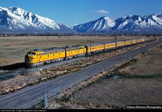 RailPictures.Net Photo: UP 954 Union Pacific EMD E9(A) at Springville, Utah by James Belmont