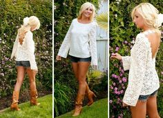 cute outfit. Id wear a boot with less of heel though. More of a traditional cowboy boot.