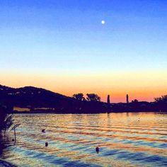 Quando i colori... Tramonto al lago di Piediluco - Terni - Umbria