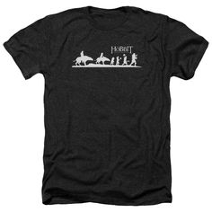 Hobbit/Orc Company Adult Heather T-Shirt in