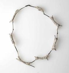 Iro Kaskani - Necklace - Sterling silver, jesmonite, foam - JOYA 2016