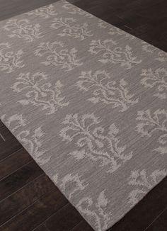 Jaipur Rugs RUG112282 Flat-Weave Tribal Pattern Wool Gray/ Area Rug ( 2X3 )