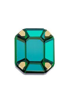 5250dbb2d9 Gem Cut Ring - Green £50 - AW13 Sky Lab
