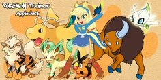 Pokemon Trainer Applejack by LightDegel.deviantart.com on @DeviantArt