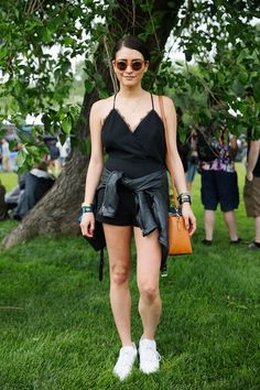 30+ Killer Festival Looks From Governor's Ball #refinery29  http://www.refinery29.com/2015/06/88500/governors-ball-2015-street-style-pictures#slide-5  And this is how you do all black in the summer.