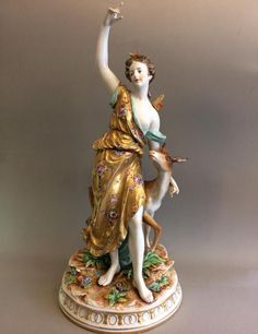 Figure De Diane Chasseresse, Dubinin's Antiques & Atelier, Proantic