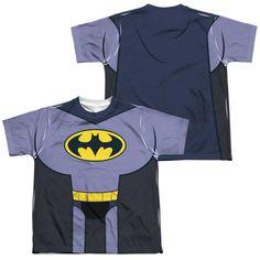 Batman Dark Knight Returns DKR DUO Robin Adult Dickies Work Shirt All Sizes