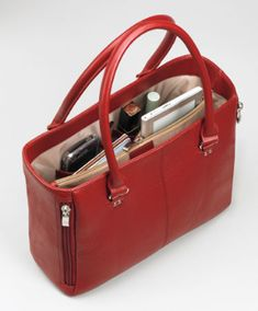 want it for a service bag. It's perfect...open top, leather, right size and sturdy.  The handles even have wire in them. ~ Funny you could put your reasoning book in the side zip.