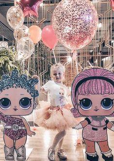 Quantas bonecas você vê na imagem Surprise Party Decorations, Girl Birthday Decorations, Unicorn Birthday Parties, Birthday Party Themes, Surprise Birthday, Baby Girl Shower Themes, Doll Party, Lol Dolls, Party Ideas
