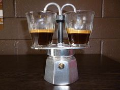 Bialetti double espresso Moka pot