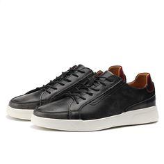 79b007ab071 Woodtree Classic Canvas Shoes Mężczyźni Obuwie Wygodne Okrągłe Toe  Sznurowane Płaskie Buty Moda Oddychające Odporne na