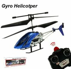 Blue and Black Cool Mini 2 Channel I/R Remote Control RC Helicopter with Gyro by amtonsee@gmail.com. $17.29. A amazing gift for your kid,It will bring your kid lots of fun. 100% Brand new and high quality.. Easy and Convenient to use for children. Can fly up, down, forwards and backwards, but also adds roll, which lets you control left and right along with being able to spin the helicopter on the spot while hovering.. Quantity: 1pcs. 1,Dimensions:  ( 17 x 3.5 ...