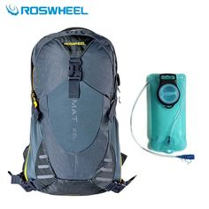 (70.00$)  Watch now  - ROSWHEEL Outdoor Climbing Bags 22L Men Women Camping Hiking Sports Water Bags Hydration Cycling Backpacks Rucksack Eastpack 2016