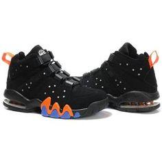 www.asneakers4u.com Charles Barkley Shoes   Nike Air Max2 CB 94 Black/Orange