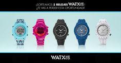 ¡Gana 5 relojes WatxandCo!