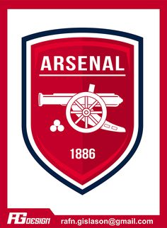 Arsenal Fc, Arsenal Wallpapers, Fifa, Pictogram, Porsche Logo, Branding, Shirt Designs, Logo Design, Sports
