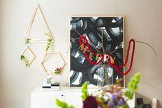 DIY Modern Wreaths by Brittni Mehlhoff