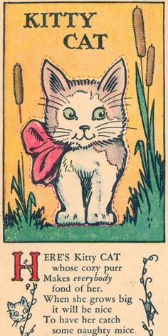 New cats face illustration kittens 34 ideas I Love Cats, Crazy Cats, Cool Cats, Cat Poems, Children's Book Illustration, Cat Illustrations, Here Kitty Kitty, Kitty Cats, Vintage Cat