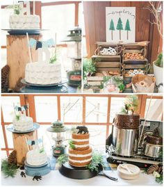 Rustic Camping Birthday Party via Kara's Party Ideas | KarasPartyIdeas.com (4)
