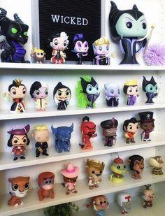 845 Likes, 30 Comments - Once U Pop U can& stop! Disney Pop, Disney Merch, Walt Disney, Disney Stuff, Funk Pop, Funko Pop Display, Deco Harry Potter, Funko Pop Dolls, Pop Figurine