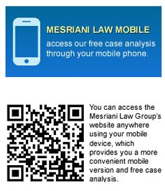 You can now browse on our website using your mobile phone. Simply go to www.mesrianilaw.com and Scan the QR code (Android users) to fill up our FREE case analysis form.