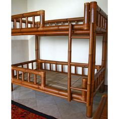 Bamboo Bunk Bed                                                       …