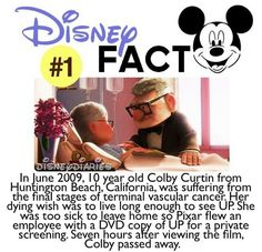 Disney facts this is so sad. But I'm from Huntington Beach! :)--this just makes me want to cry even harder when I think about UP.