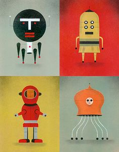 Robot squad!