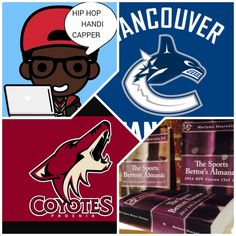 "3/5/15 NHL Sports Bettors Almanac Update: #Vancouver #Canucks vs #Arizona #Coyotes (Take: Coyotes +166,Over 5.5 Goals) (THIS IS NOT A SPECIAL PICK ) ""The Sports Bettors Almanac"" SPORTS BETTING ADVICE  On  95% of regular season games ATS including Over/Under   1.) ""The Sports Bettors Almanac"" available at www.Amazon.com  2.) Check for updates   My Sports Betting System Is an Analytical Based Formula   ""The Ratio of Luck""  R-P+H ±Y(2)÷PF(1.618)×U(3.14) = Ratio Of Luck  R=Reality,"