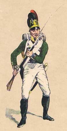 Bavarian 5th Regt. light infantry Butler Battalion