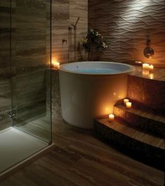 Good Japanese Soaking Tub Ideas for Relaxation After Got Hard Work - Page 9 . - jamar phelps 430 Good Japanese Soaking Tub Ideas for Relaxation After Got Hard Work - Page 9 . Bathroom Spa, Simple Bathroom, Modern Bathroom, Bathroom Ideas, Bathroom Remodeling, Concrete Bathroom, Minimalist Bathroom, Bathroom Layout, Bathroom Faucets