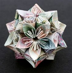 Currency Sculpture