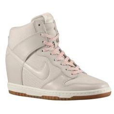 Nike Dunk Sky Hi - Women's - White/White/Wolf Grey