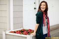Love the scarf - love the laugh :)
