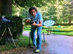 Kameramann Sepp Müller in action