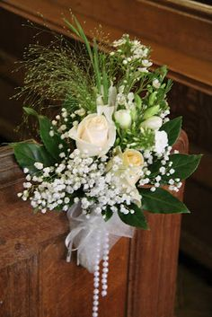 Flower Design Events: Pew End Posy