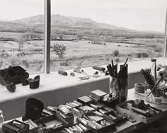Studio of Georgia O'Keeffe.