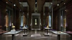 Wilmotte & Associés S. Museum of Islamic Art - Pictures Exhibition Display, Exhibition Space, Museum Exhibition, Art Museum, Museum Lighting, Museum Studies, Museum Displays, Expositions, Design Museum
