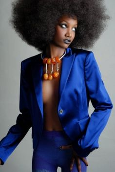 The BIGGER the hair the harder they stare. #nolye #afro #big hair don't care #team natural hair