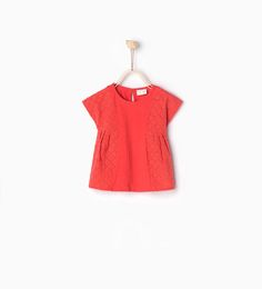 ZARA - COLLECTION SS16 - Embroidered T-shirt
